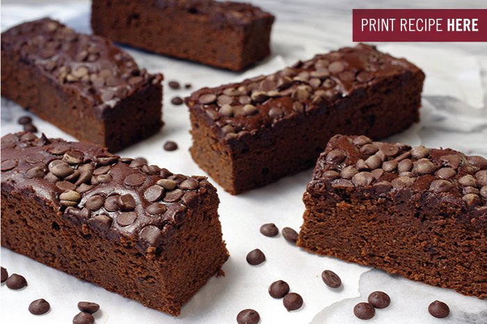 Black Bean High Protein Brownie