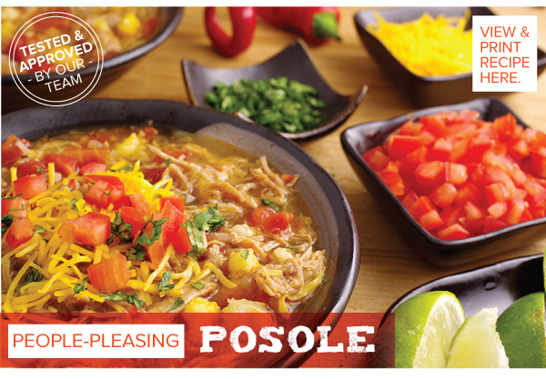 RECIPE: People Pleasing Posole