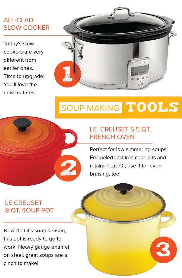 Soup Making Tools