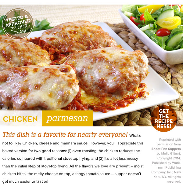 RECIPE: Chicken Parmesan