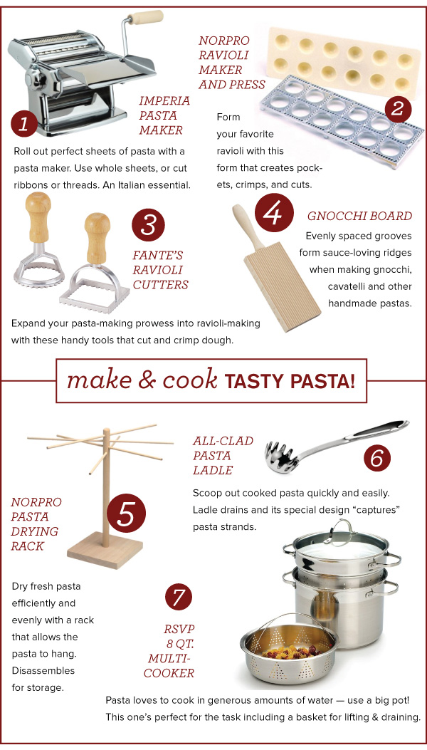 Pasta-making Tools