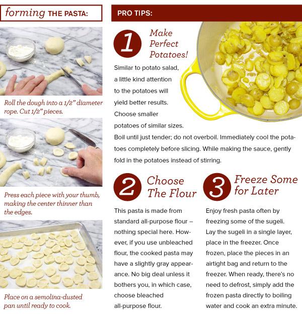 Forming Handmade Pasta