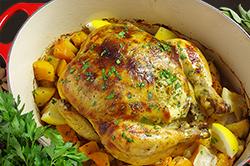 Autumn Roasted Chicken