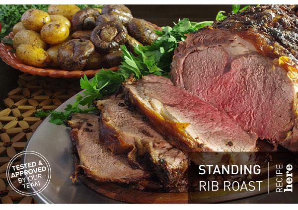 RECIPE: Standing Rib Roast
