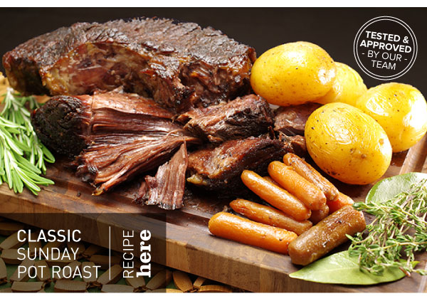 RECIPE: Classic Sunday Pot Roast