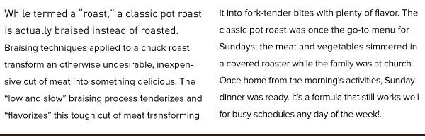 RECIPE: Classic Sunday Pot Roast