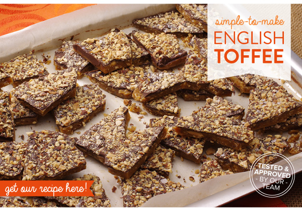 Simple to Make English Toffee