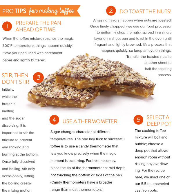 Pro Tips for Making Toffee