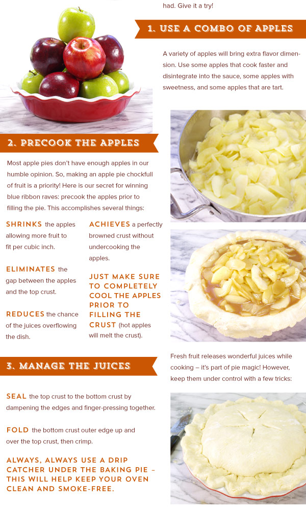 Secrets for a better Apple Pie