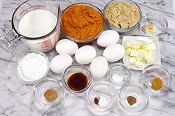 Pumpkin Filling Ingredients