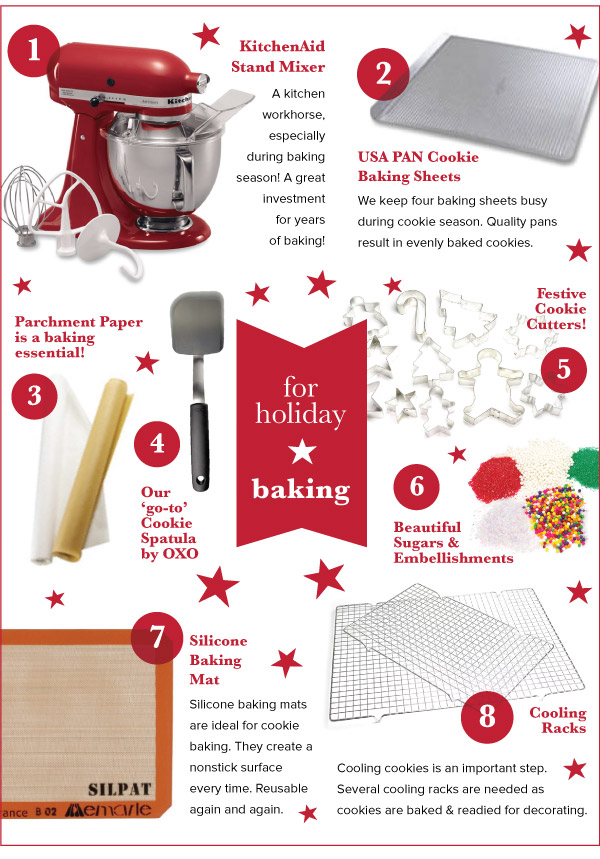 For Holiday Baking