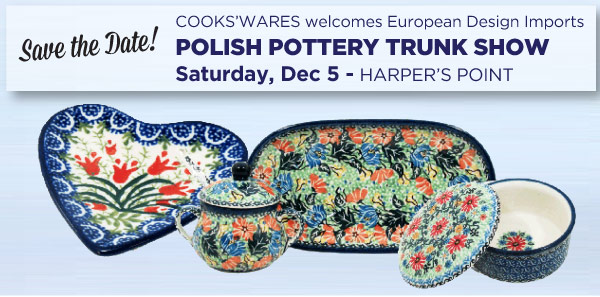 Polish Pottery Trunk Show