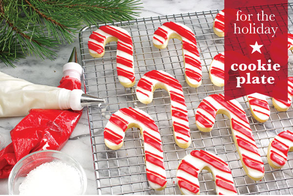 For the Holiday Cookie Plate