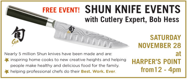Shun Knife Event