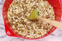 Dry Ingredients Stirred