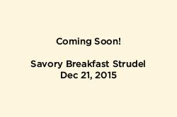Breakfast Strudel