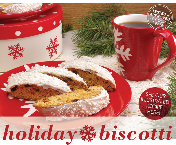 RECIPE: Holiday Biscotti