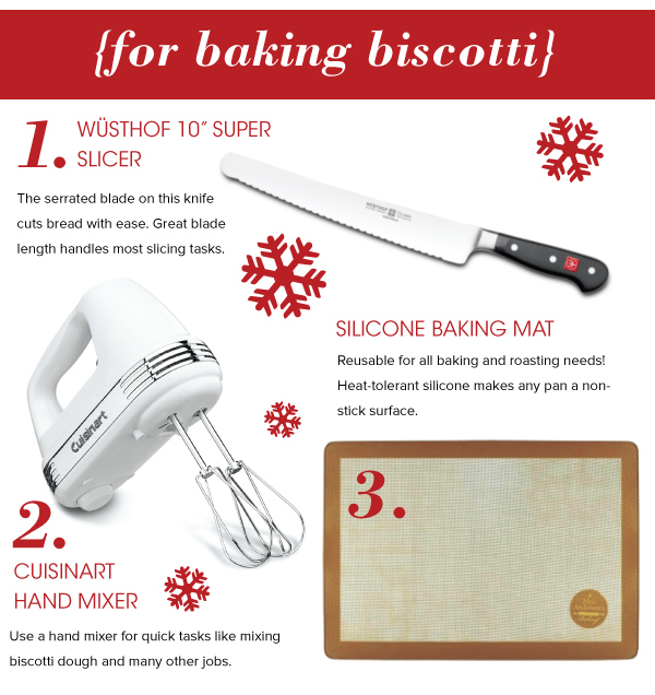 For Making Biscotti