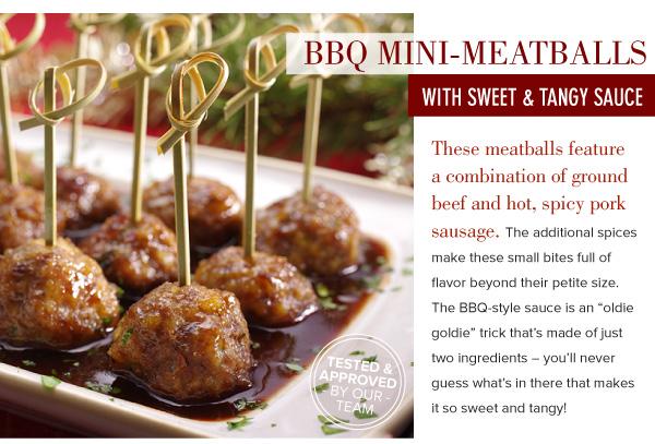 BBQ Mini-Meatballs