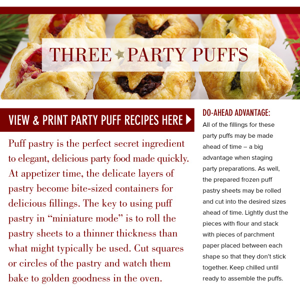 Three Party Puffs