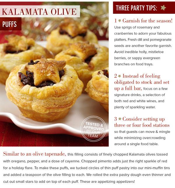 Kalamata Olive Puffs