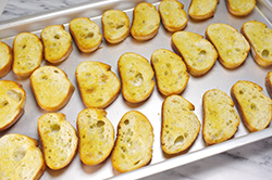 Crostini Toasted