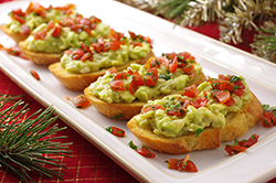 Avocado-Tomato Crostini