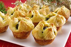 Spinach-Parmesan Puffs