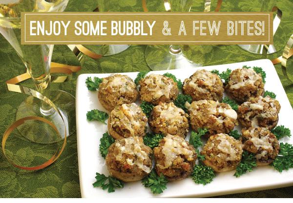 Enjoy Bubbly and Bites
