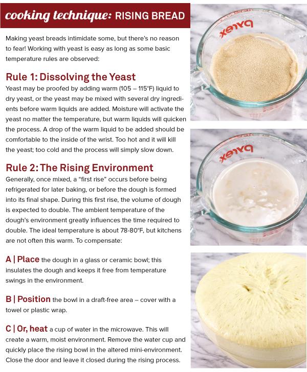 Cooking Technique: Rising Bread