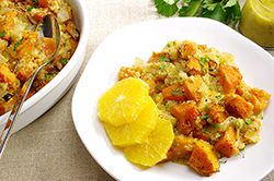 Citrus with Butternut, Quinoa, and Honey-Mustard Dressing
