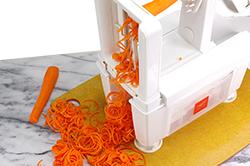 Spiralizing Carrots
