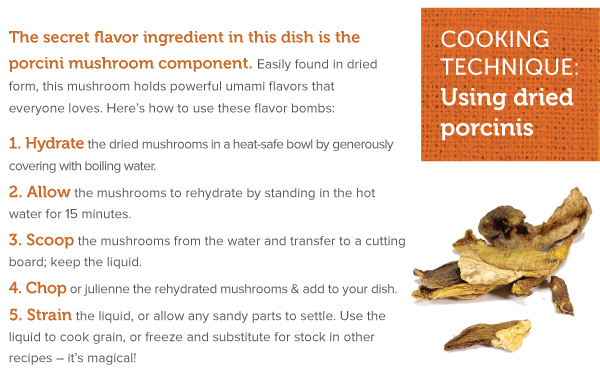 Cooking Technique: Using Dried Porcinis