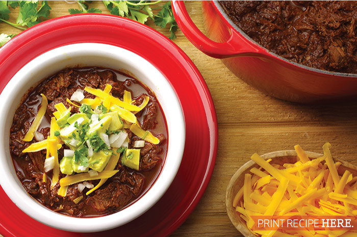 Almost Texas-style Chili