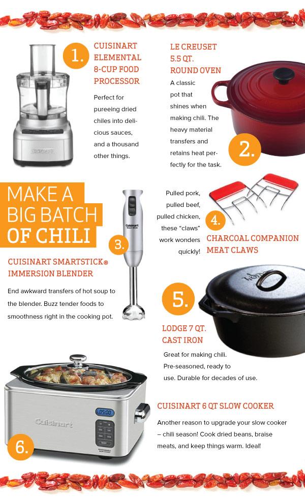 Make a Big Batch of Chili