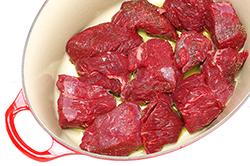 Searing Beef
