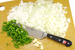 Chopping Aromatics
