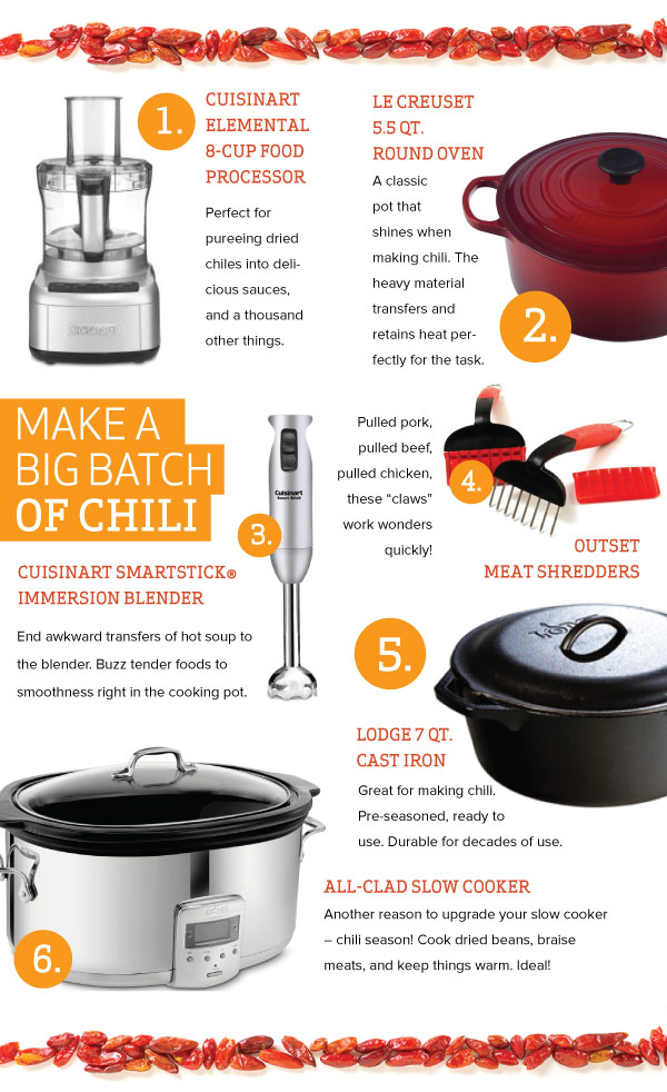 Make a Big Batch of Chili