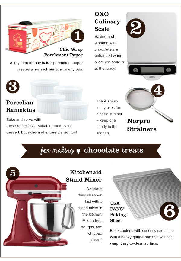 For Making Chocolate Treats