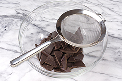 Chocolate and Strainer