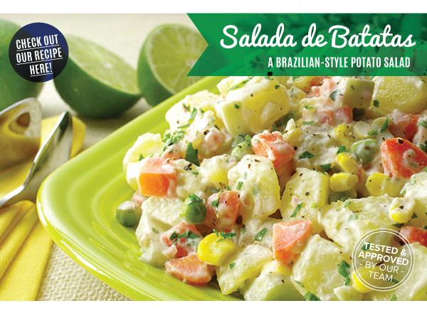 RECIPE: Salada De Batatas