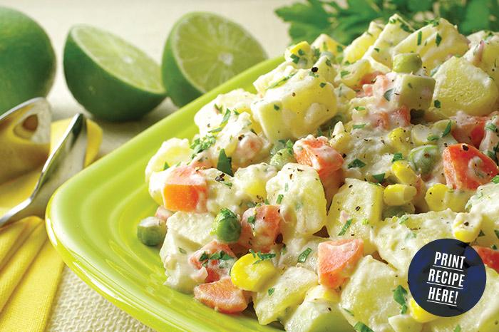 Salada de Batatas - a Brazilian-style Potato Salad