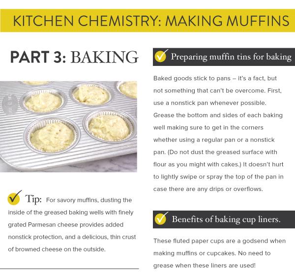 Part 3: Baking