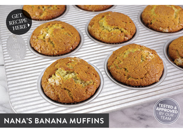 RECIPE: Nana Banana Muffins