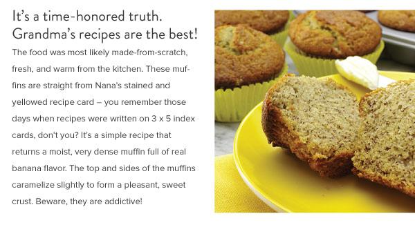 Nana Banana Muffins