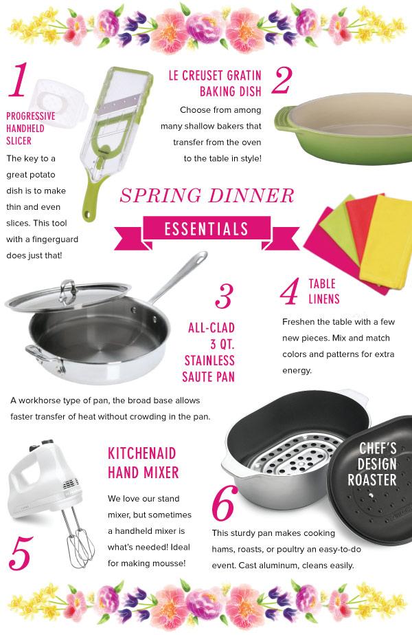 Spring DInner Essentials