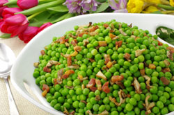 Truffled Peas and Pancetta