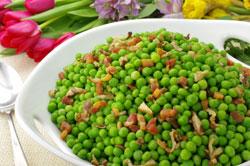 Truffled Peas and Pancetta