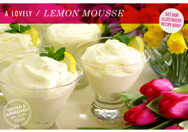 A Lovely Lemon Mousse