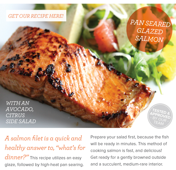 RECIPE: Pan Glazed Salmon